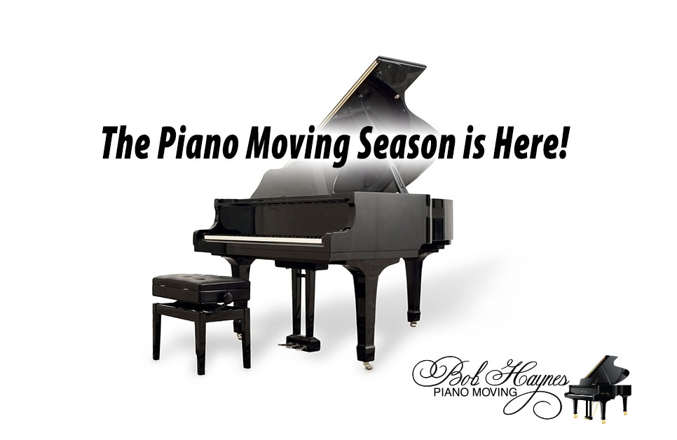 The Piano Moving Season is Here!