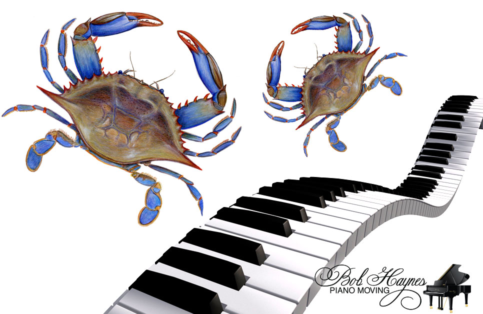Annapolis – Moving Pianos and Eating Blue Crabs
