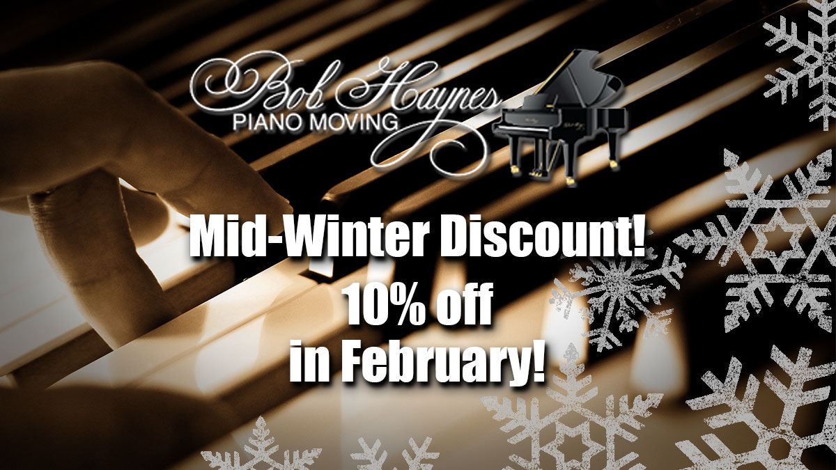 Mid-Winter Discount! 10% OFF for February!